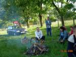 Pożegnalne ognisko klasy VI 2009