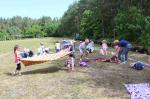 Przedszkolaki na pikniku