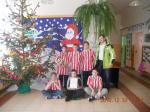 II - miejsce w halowym turnieju piłki nożnej