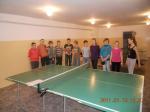 II - miejsce w turnieju tenisa stołowego