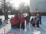 Przedszkolaki na śniegu 2011'